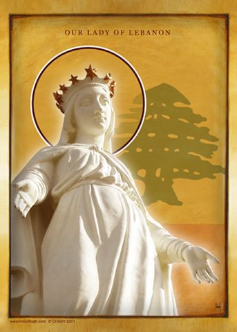 HolyBrush.com - Our Lady of Lebanon, $34.95 (http://www.holybrush.com/our-lady-of-lebanon/)