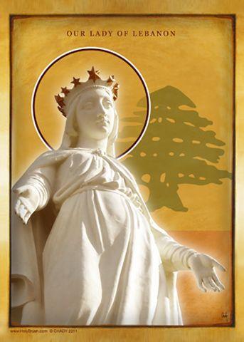 HolyBrush.com - Our Lady of Lebanon, $34.95 (http://www.holybrush.com/our-lady-of-lebanon/)
