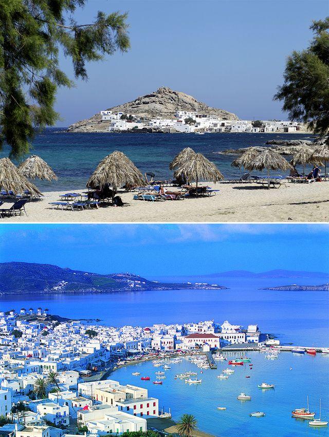 Les cinq plus belles îles grecques Mykonos
