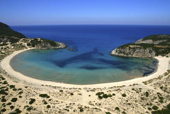 VISIT GREECE  Navarino Challenge 2014, #Voidokilia Bay #Kalamata #CostaNavarino #Messinia #Peloponnese