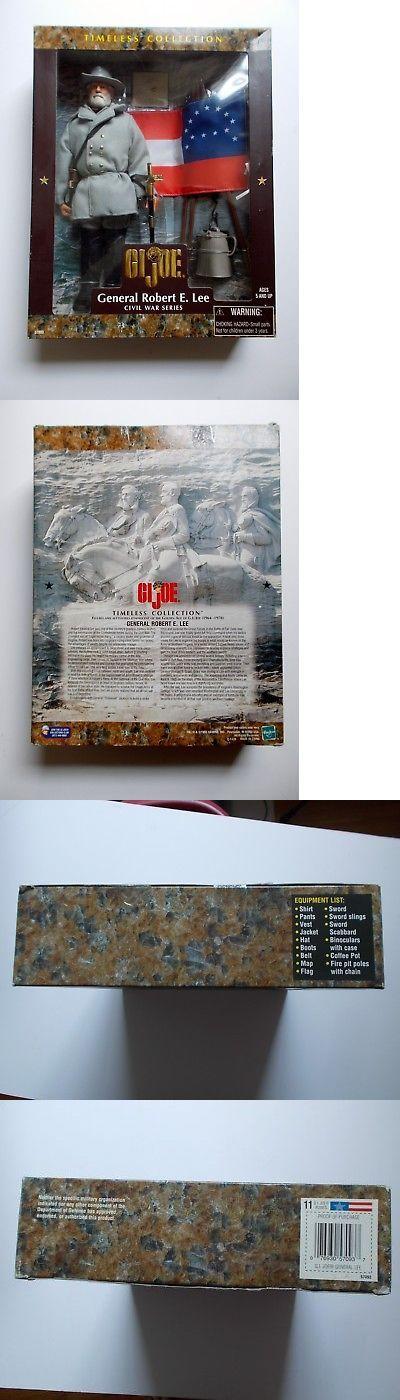 Historical Figures 175694: Kenner Hasbro 1998 Timeless Series Civil War Robert E. Lee 12 Gi Joe -> BUY IT NOW ONLY: $75 on eBay!