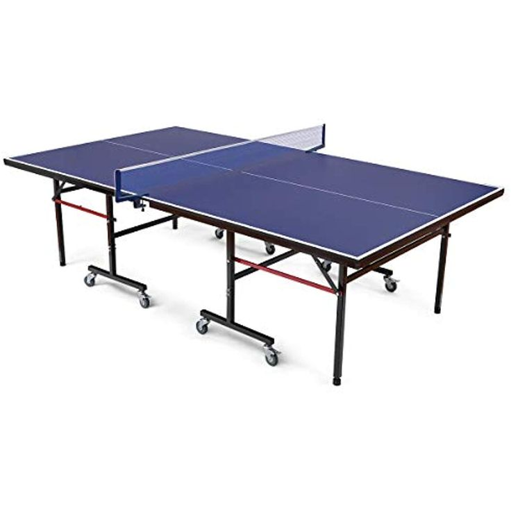 Goplus Foldable Table Tennis Table Ping Pong Table Net Set f