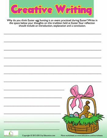 Creative writing worksheets for grade 3