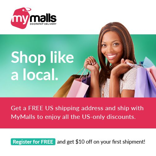 Get a FREE US #shipping address. Register with us today and get #US only prices and #discounts.