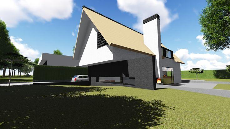 #riet #modern #villa #nieuwbouw #architect #TenbackdeGroof #BartdeGroof