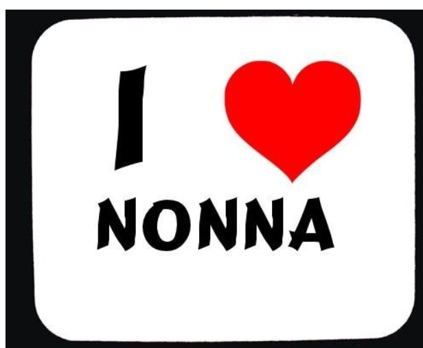 """WE DON'T! However, considering nonna means """"an OLD Italian woman,"""" I suppose the dumb nickname is acceptable."""