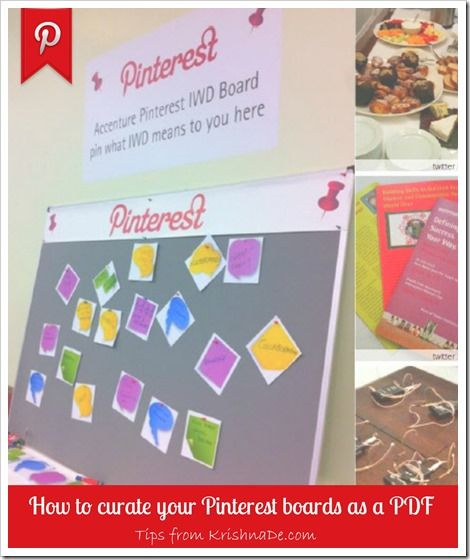 Turn Your #Pinterest Boards into a PDF or JPEG Image So You Can Refer to Them Off Line