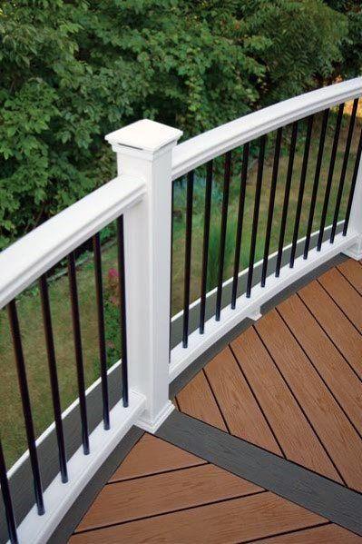 Top 70 Best Deck Railing Ideas Outdoor Design