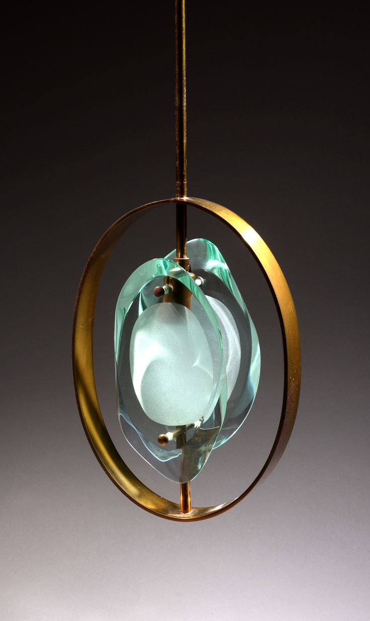 Pendant Ceiling Light No. 1933 by Max Ingrand for Fontana Arte | From a unique collection of antique and modern chandeliers and pendants at https://www.1stdibs.com/furniture/lighting/chandeliers-pendant-lights/