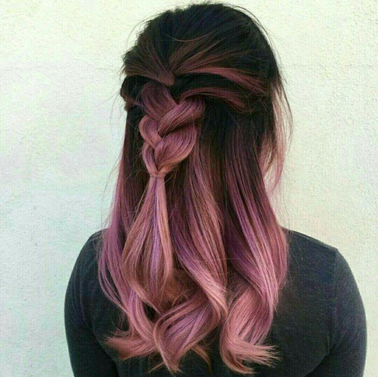 Love the dark pink ombré!