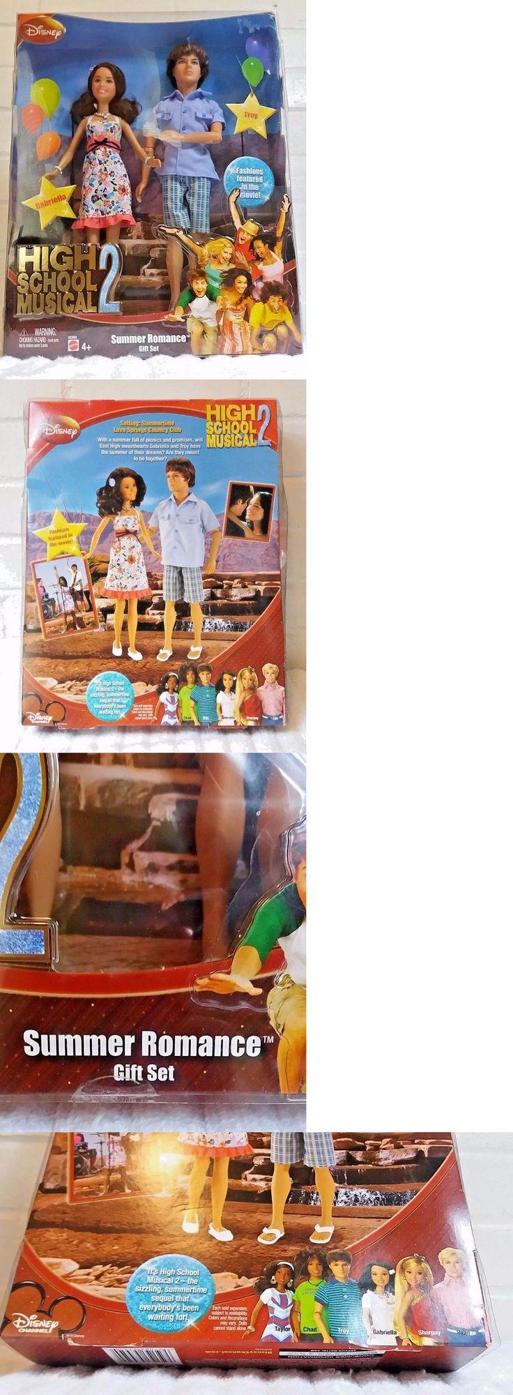 High School Musical 158764: High School Musical 2 Summer Romance Gift Set Disney Troy And Gabriella Dolls -> BUY IT NOW ONLY: $49.99 on eBay!