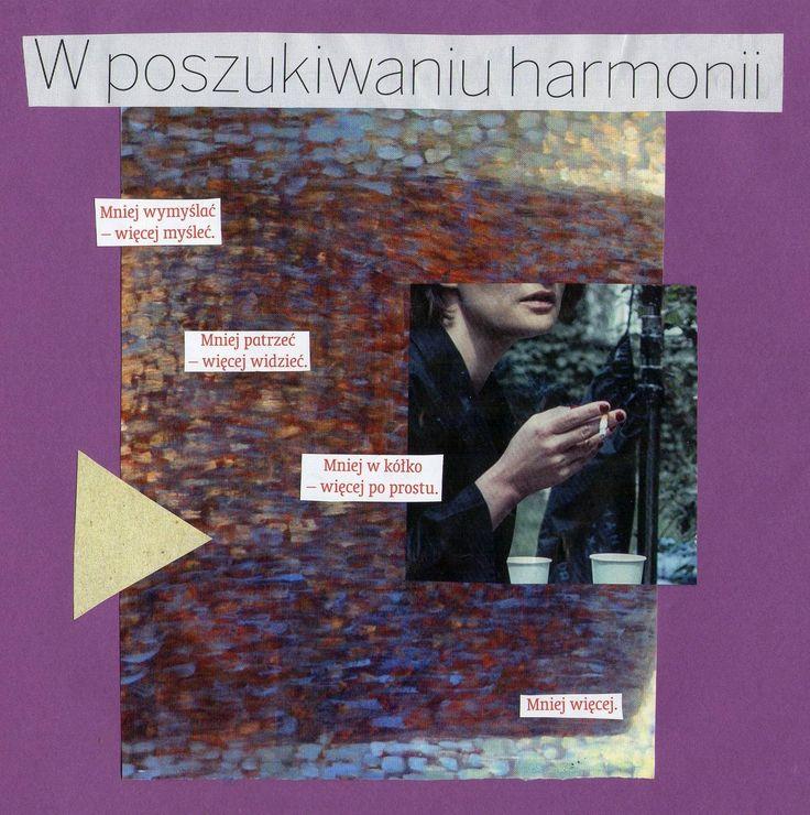 w poszukiwaniu harmonii