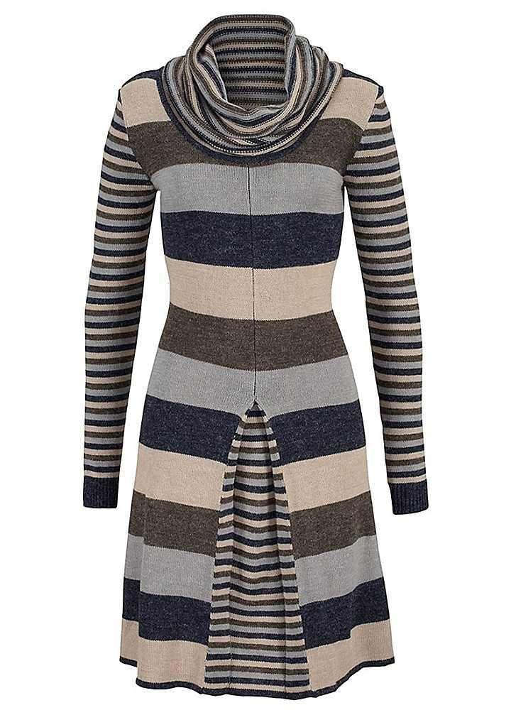 Vivien Caron Knitted Dress UK plus sizes 14-24