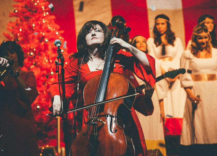 Good Tidings. // Scenes From The Polyphonic Spree's 12th Annual Holiday Extravaganza at Dallas' Lakewood Theater.