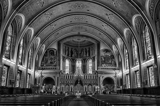 Leo Mol windows in the Ukrainian Catholic Metropolitan Cathedral of Sts. Vladimir & Olga, Winnipeg | Flickr - Photo Sharing!