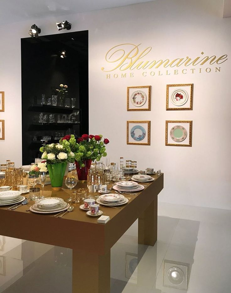 "Blumarine Home Collection - Art de la Table 2017 collection  Blumarine unveils ""Romantic Doily"" and ""Ocean Blue"", the new tableware proposals echoing the romantic and suggestive codes of the pret-à-porter line.  Info: blumarinehome@arnolfodicambio.com  Salone del Mobile - Fiera Milano Rho"