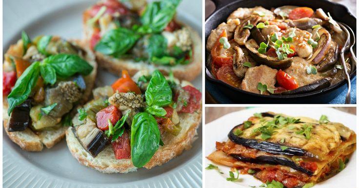 10 imperdibili ricette estive con le melanzane
