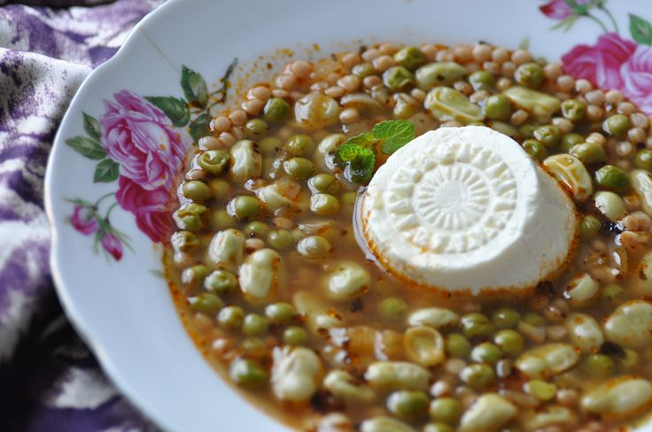 Maltese kusksu is a wonderful heartwarming soup. Made with broad beans, peas, giant couscous and, as an extra option Maltese cheese and eggs can also be added. I also added a teaspoon of dried mint to mine. Happy 2016 everyone. This is going to be my month of Maltese soups. Whenever I make kusksu I...Read More »