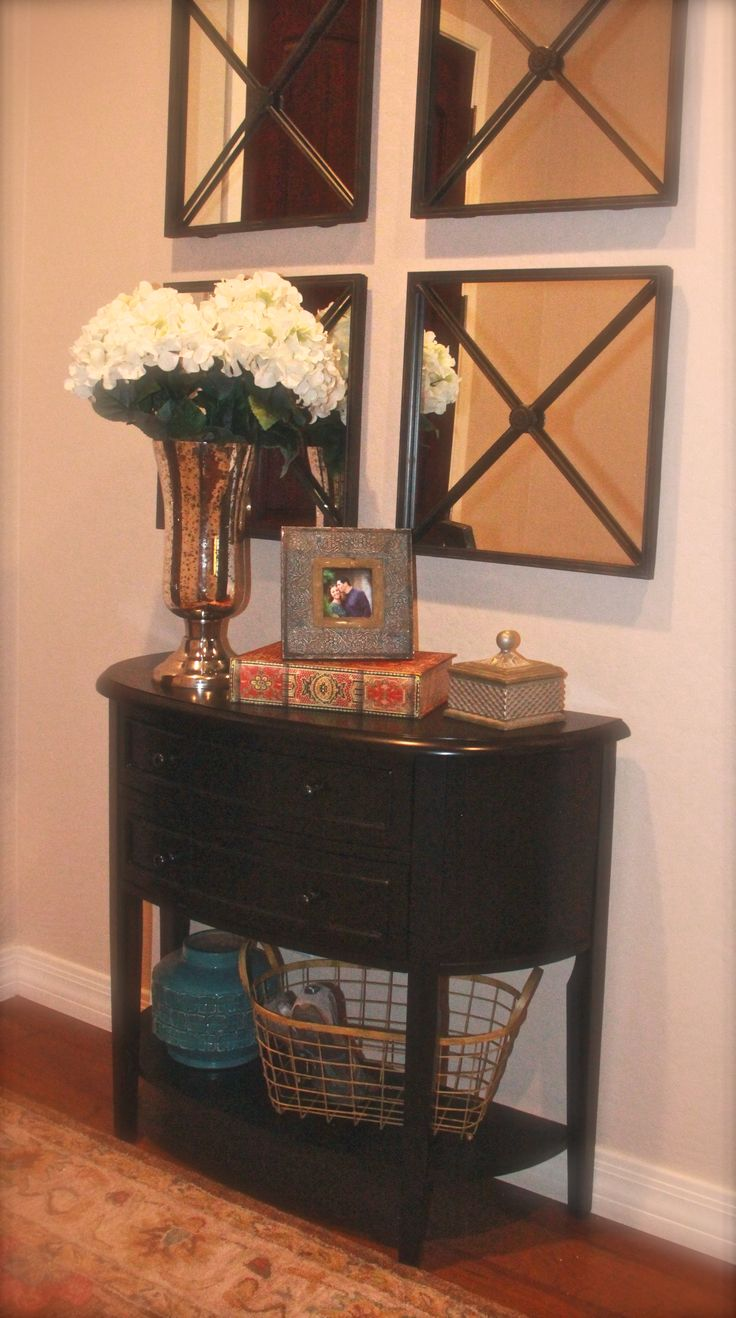 Small Mirrored Foyer Table : Best small foyers ideas on pinterest entryway
