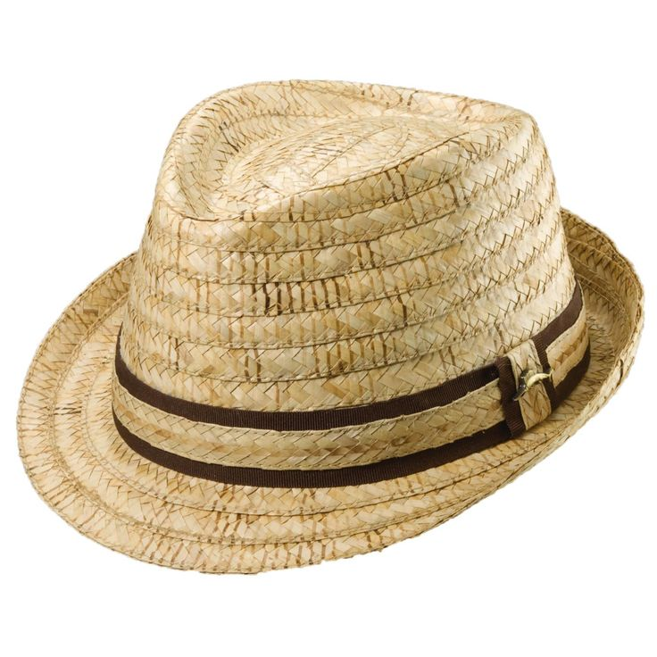 This fedora is constructed from straw from the buri palm, a plant in the Philipp…   – Hats, Hats, Hats