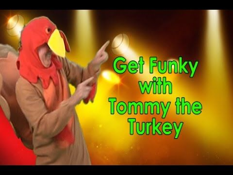 This Thanksgiving song for kids is so funky and cool that children, teachers and parents will have fun dancing together.  It features Tommy the Turkey, a groovin', movin', dancin' turkey. This Thanksgiving song and dance children a chance to sing along, repeat after me and dance all together. It's a great song to use to celebrate the holiday, but also can be used as a wonderful brain breaks song, too.