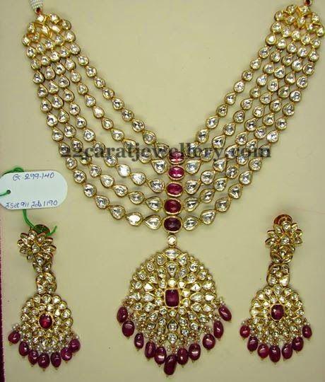 Jewellery Designs: Kundan Bridal Set by Preeti Jain
