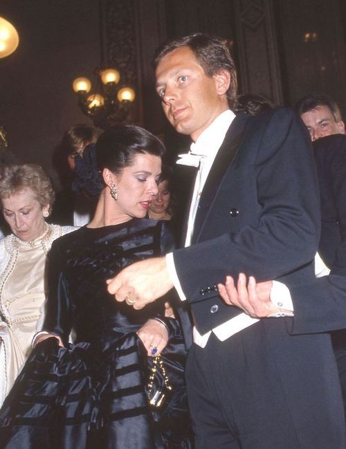 Caroline and Stefano Casiraghi | Carolina | Pinterest ...