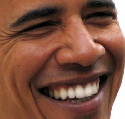 Barack Obama. Silky smooth.  Would you rather have this confident, positive and upbeat leader as our president *or* the petty, petulant and angry 'mean boss' guy he's running against?