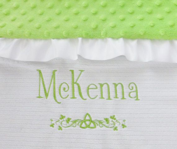 16 best irish baby gifts images on pinterest irish baby baby personalized irish baby blanket irish baptism blanketst patricks day blanket minky baby blanket irish baby gift irish baby blanket negle Gallery