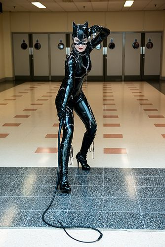 #Cosplay: #Catwoman (Michelle Pfeiffer) - MCM Comic Con, November, 2013
