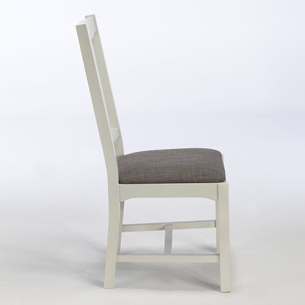 Somerton Dining Chair - To create the curve in the back it seems that the back section has been made from three different pieces of wood joined together in the gap between the seat and the leg supports