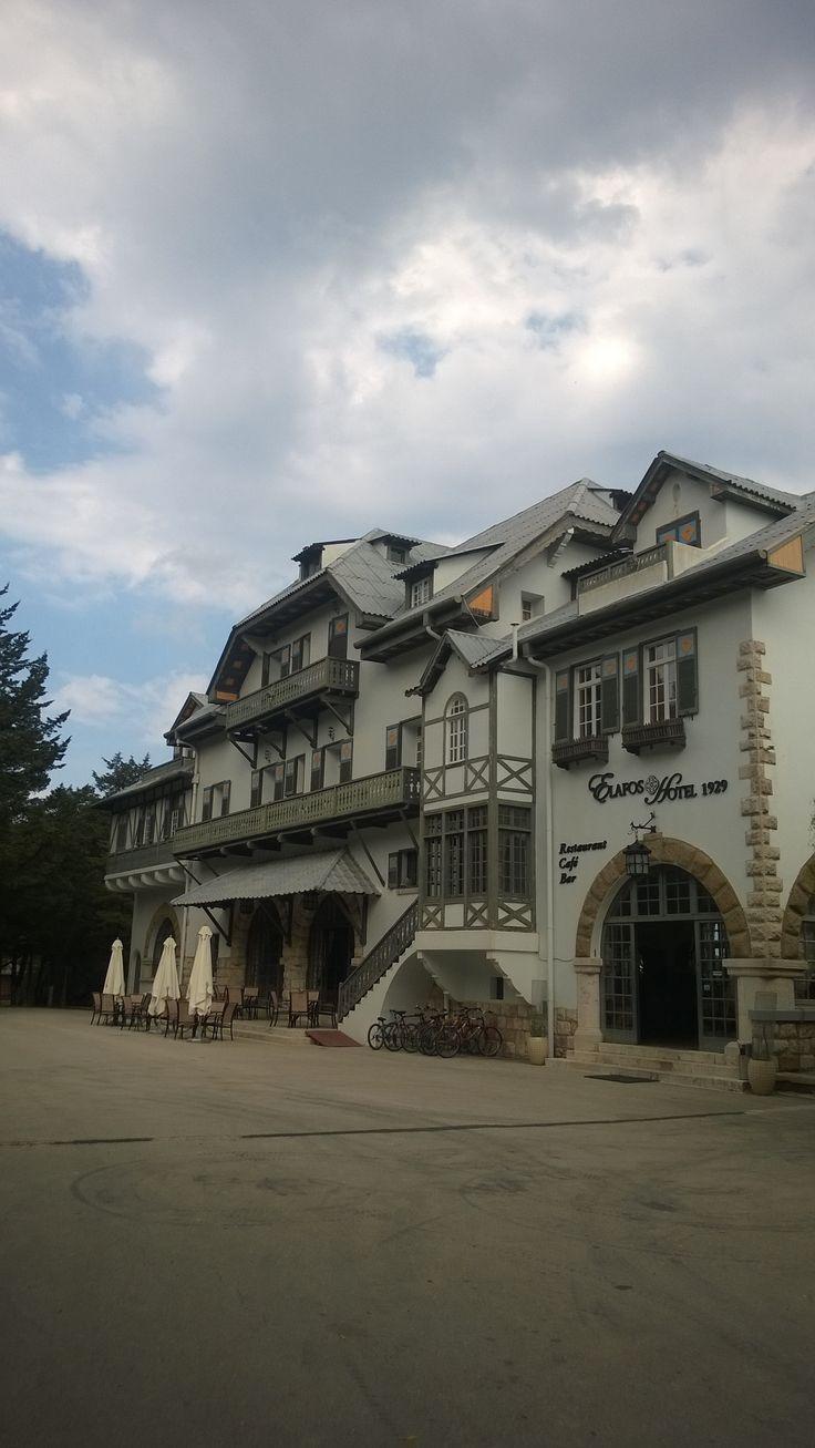 Elafos Hotel, Profitis Ilias Mountain, Rhodes, Greece