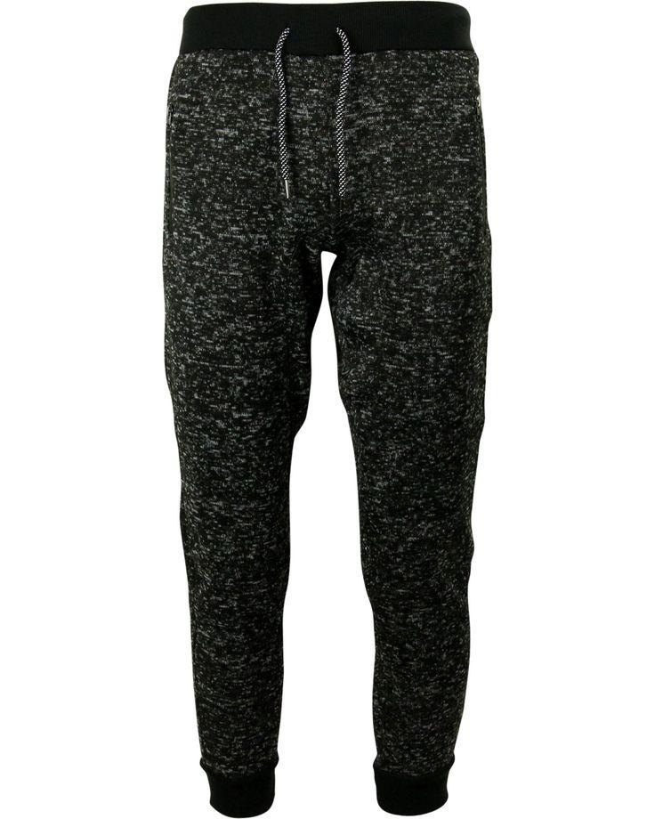 Men's Sweater Fleece Jogger With Zipper