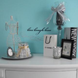 Tiffany Inspired Bedroom idea for my teen