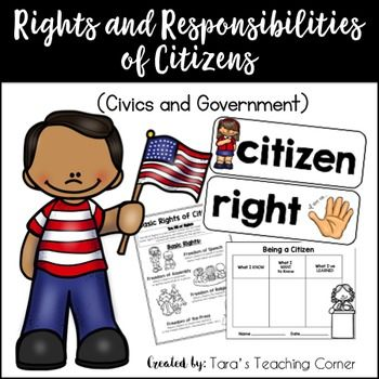 Rights and Responsibilities of Citizens- Complete Lesson (