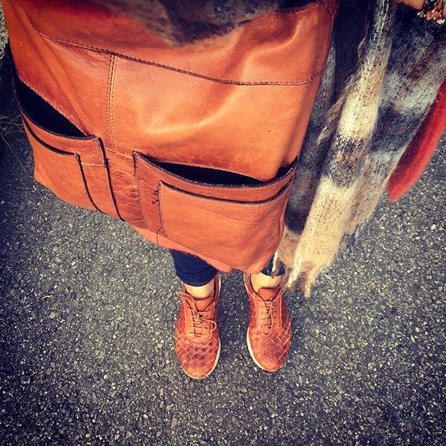 HARSTAD BAG in burned tan @dixieofficial #redesignedbydixie#skinnveske#farge #walnut#1399,-