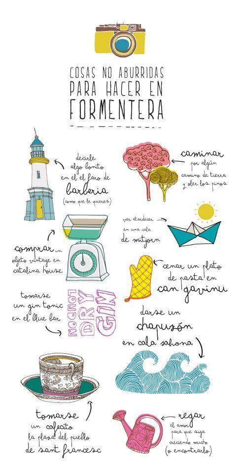 Cosas no aburridas para hacer en Formentera - by Mr Wonderful