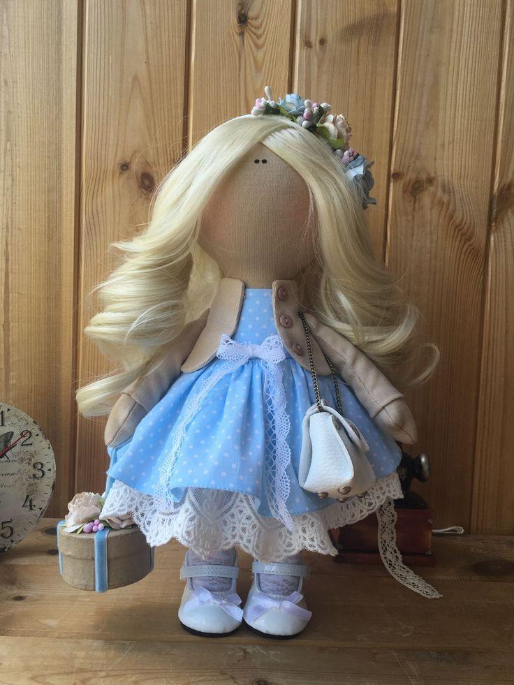 Купить Кукла ручной работы Vasilisa. - кукла ручной работы, кукла, кукла в подарок