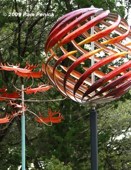 The Big Swirly Spinner Would Look Nice Near A Bed Of Lots Of Purpley  Flowers | Green Space/Food Forest/Community Garden Artsy Things | Pinterest  | Kinetic ...
