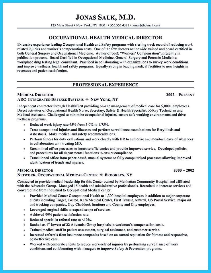 Medical Director Job Description Volunteer Physician Job - medical biller resume