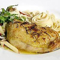 Salvie- og sitronkylling med parmesan -