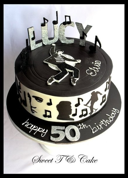 1000 Images About Elvis Presley Cakes On Pinterest Dads