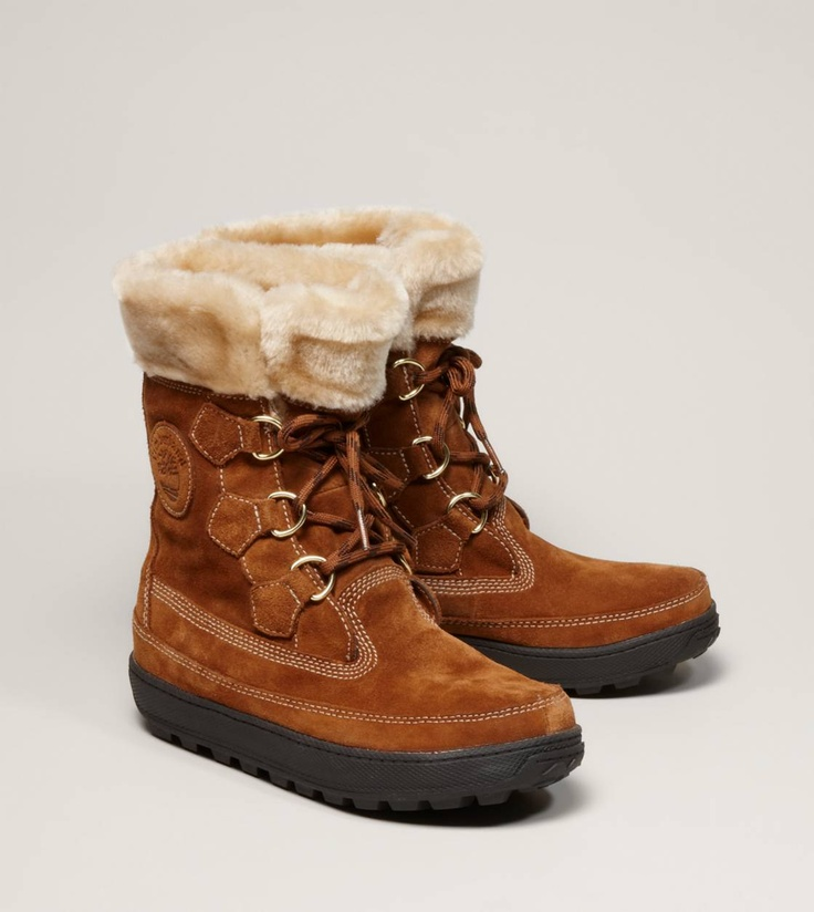 Timberland Mukluk Faux Fur Boot:  WISH: i think theese would look cute with my flares.