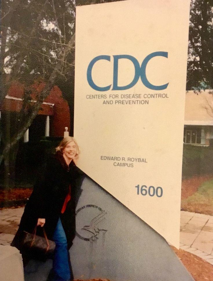 CDC career dream job by Elizabeth Marion Williams, MLS(ASCP) picture taken in Atlanta, Georgia ~2002