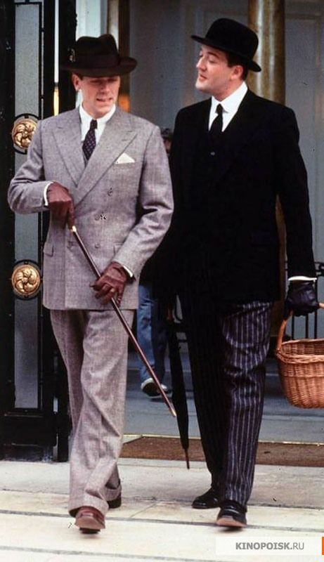 Jeeves and Wooster. This show made me fall in love with men's formal wear. Leave it to Jeeves - he knows!