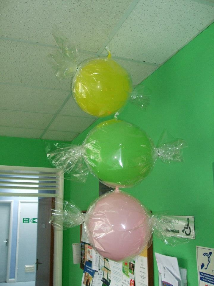 17 best images about air filled balloon creations on for Air filled balloon decoration ideas