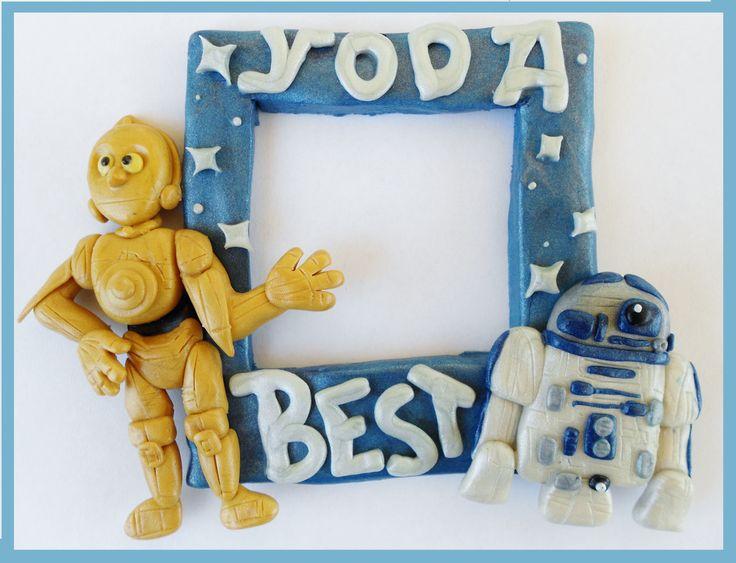 C3PO and R2D2 Picture Frame by SkipperSara.deviantart.com on @deviantART