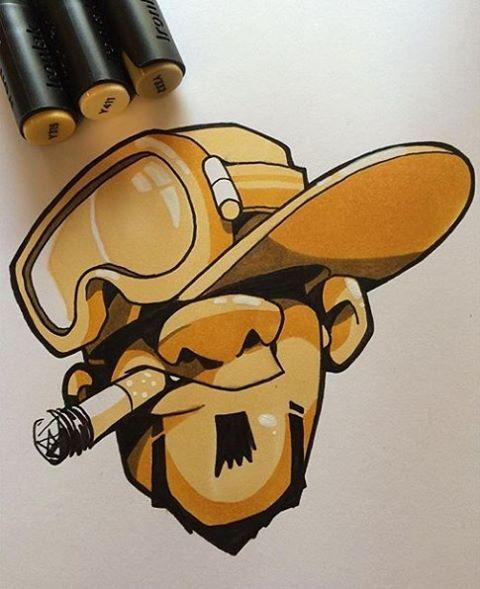 гифки персонажи граффити рисунки есть альтернативное название