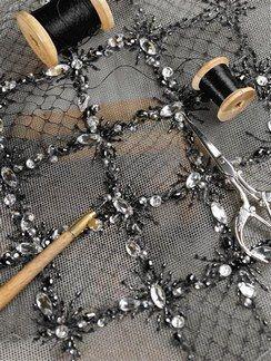 Maison Lesage : échantillons, perles, paillettes et autres matériaux - Mode et broderie: la maison Lesage