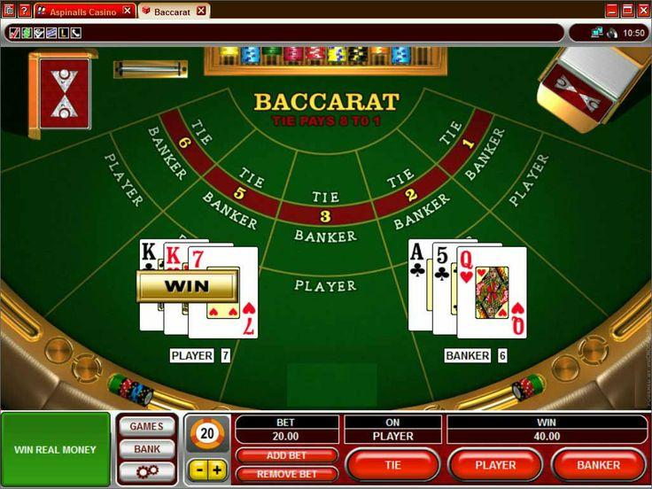 Det er et sjansespill som krever at spilleren å avgjøre hvis hånd, spilleren eller banken, vil være den nærmeste til verdien av ni. #casinospill #casinonorsk